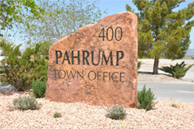 Courtesy of Town of Pahrump