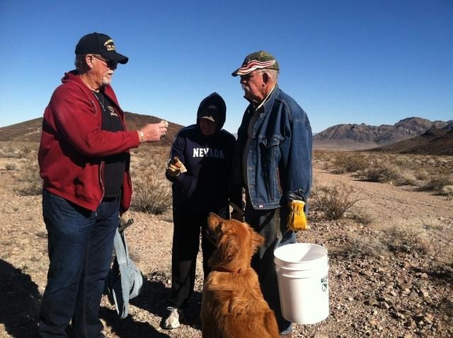 Pahrump Valley Rockhound gem club rocks desert   Pahrump