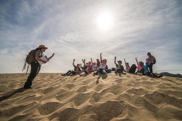 Death Valley National Park and the Death Valley Natural History Association have announced the availability of transportation grants for school groups participating in field trips to the park.  Ku ...