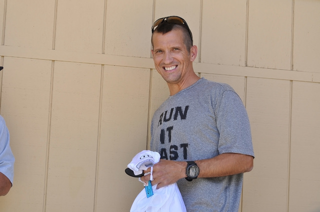 Horace Langford Jr / Pahrump Valley Times  Badwater rookie Matthew Riely talks about his love for running and what he thinks it takes to finish the 135-mile race.