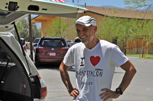 Horace Langford Jr / Pahrump Valley Times Hungarian ultra-marathon runner Zoltan Vajda describes his passion for long distance running and how it saved his life.