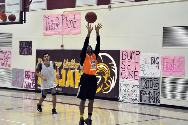 Dylan Montgomery making shots during practice last week. Trojans guards Antonio Fortin and Bryce Odegard combined for 28 points in the game against Del Sol. The Trojans are at the Serpent Classic  ...