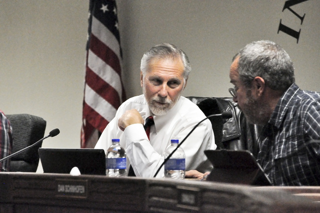 At the Dec. 20 meeting, Nye County commissioners requested cooperating agency status during discussions of Fallon Naval Air Station and Nellis Air Force Base expansion plans. If the status is gran ...