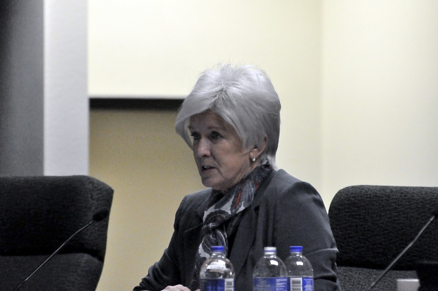 Nye County Commissioner Lorinda Wichman said Miami-based Akerman LLP has worked on behalf of Nye County during discussions with the Department of Energy, Department of Defense, Bureau of Land Mana ...
