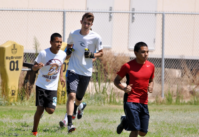 Horace Langford Jr. / Pahrump Valley Times - PVHS Boys Soccer