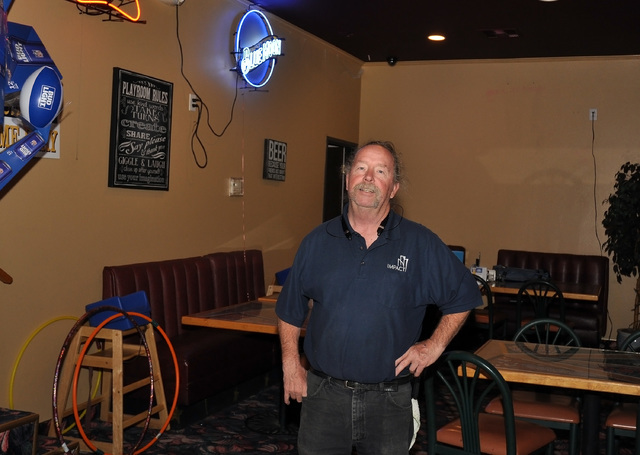 Horace Langford Jr. / Pahrump Valley Times  Mike Cappa, the owner of Big Dicks, stands inside his new restaurant.