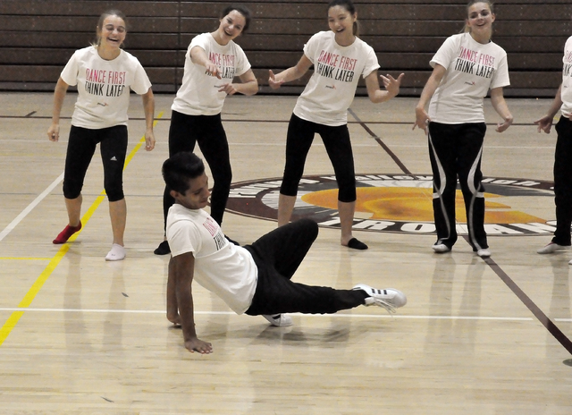 Horace Langford Jr. / Pahrump Valley Times  Chris Geer believes dance to be a sport as well as an art because of the intense physical demands on the body.