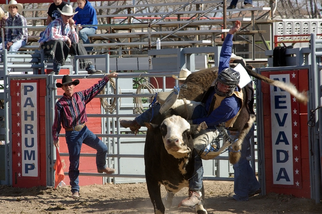 High school bull riding back in 2009. Bull riding at the high school rodeo is like in any rodeo, downright tough. The falls are just as hard as they are on the professional circuit.  Horace Langfo ...