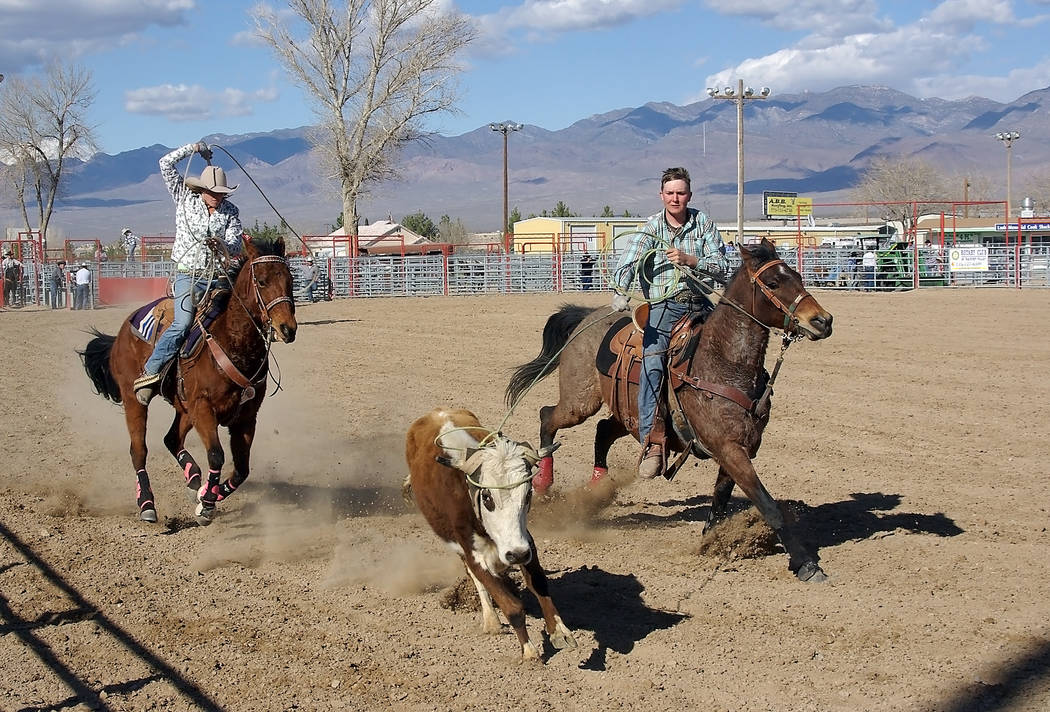Pahrump Valley High School rodeo director Buddy Krebs canceled all rodeo practice involving horses as a precaution until the state veterinarian is assured the outbreak is under control and horses  ...