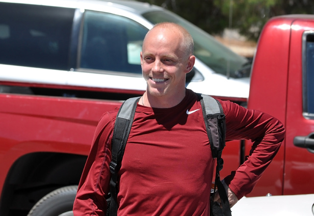 Horace Langford Jr. / Pahrump Valley Times - PVHS Boys Soccer Coach Charles Icard