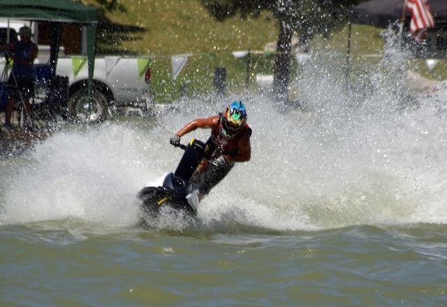 Jet Ski racing at Lakeside returns this Saturday and Sunday. In addition, five top strip DJs will be entertaining the crowd.  Horace Langford Jr / Pahrump Valley Times