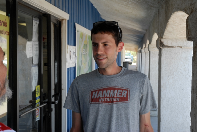 Horace Langford Jr. / Pahrump Valley Times -  Pete Kostelnick won the Badwater Ultramarathon in July by more than 2 hours and he won it for the second year in a row. He then went on to run across  ...