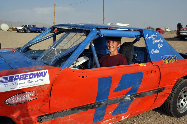 Anthony Martin is a senior at Pahrump Valley High who started racing when he was 14.  Horace Langford Jr. / Pahrump Valley Times