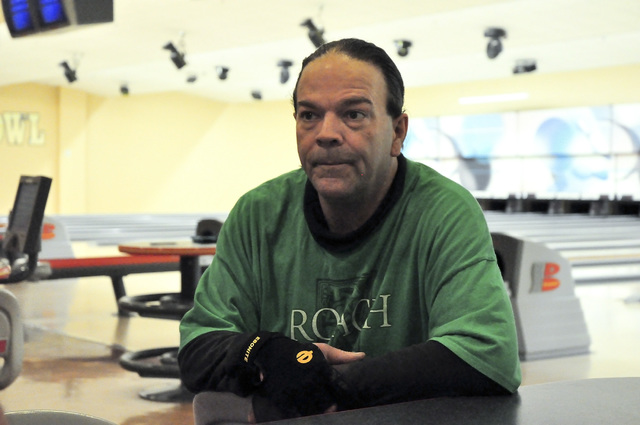 Horace Langford Jr. / Pahrump Valley Times  Bowler Nocky Roach in an interview with the Pahrump Valley Times. He passed too soon on February 16 at the age of 46.