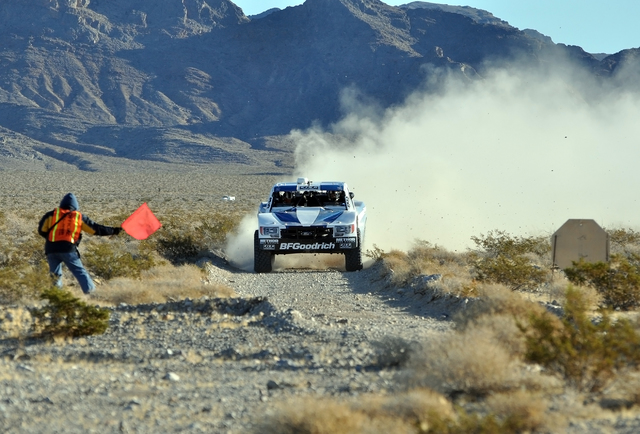 Horace Langford Jr. / Pahrump Valley Times  The Pahrump Nugget 250 off-road race started at Johnnie and looped around Beatty and then finished in the Pahrump Nugget parking lot to the thrill of fans.