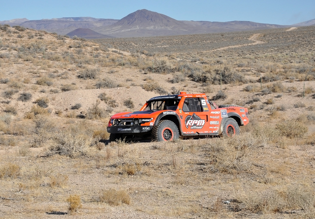 Horace Langford Jr. / Pahrump Valley Times -  The Pahrump Nugget 250 off-road race returned with success on Dec. 3 after a nine year hiatus from Pahrump. Over 100 racers showed up and fans were th ...