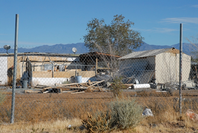 Horace Langford Jr. / Pahrump Valley Times  A blight remediation project in Pahrump was brought forward by Nye County Manager Pam Webster for this year's Community Development Block Grant submis ...