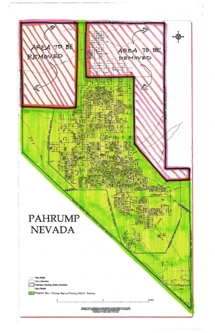 Reduction of area planning zone opposed | Pahrump Valley Times