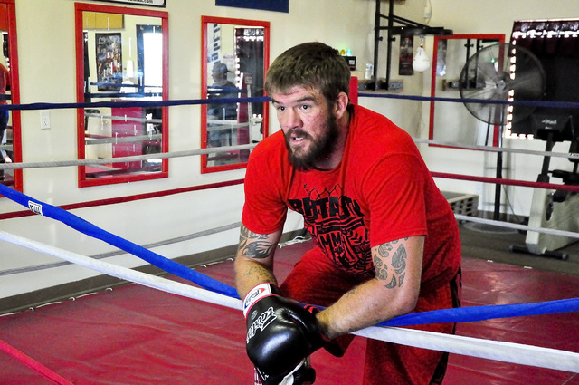 Horace Langford Jr. / Pahrump Valley Times Brandon Schneider thrilled the town with his toughness in the ring as an amateur MMA fighter. He hung up the gloves and finished his amateur career as th ...