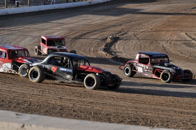 Horace Langford Jr. / Pahrump Valley Times -  Pahrump Speedway had its last race of the season on Nov. 19. The awards banquet will be in January due to the sudden illness of Chad Broadhead. Above  ...