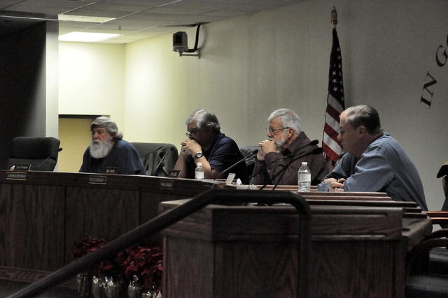The Nye County Water District Governing Board has moved forward with a bill that proposes to amend Nye County code to impose watering restrictions on new construction and conservation measures on  ...