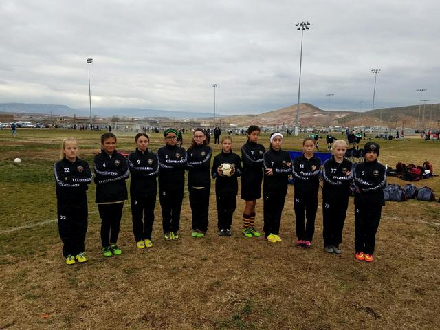 Pictured are team members Avery Moore, Courtney VanHouse, Kailani Martinez, Adryanna Avena, Andrea Sauceda, Paris Coleman, Emily Lewis, Grace Miller, Mia Carlson, Jessica Garcia, and Silla Niles.  ...