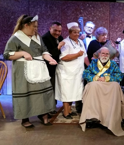 """Shadow Mountain Community Players presents the last weekend for dinner/murder mystery """"Murder is in the Heir,"""" Friday and Saturday night, at New Hope Fellowship church, doors open at 5:30 p.m., sh ..."""