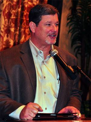 Incumbent Republican nominee James Oscarson said he will focus on the people in District 36 and not his opponent, brothel owner Dennis Hof, in their District 36 race.  Special to the Pahrump Valle ...