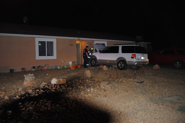 No injuries were reported after a driver plowed a full-size SUV into an occupied residence on Nov. 30. The impact caused major damage to the kitchen of the Sierra Vista Street home. Firefighters e ...
