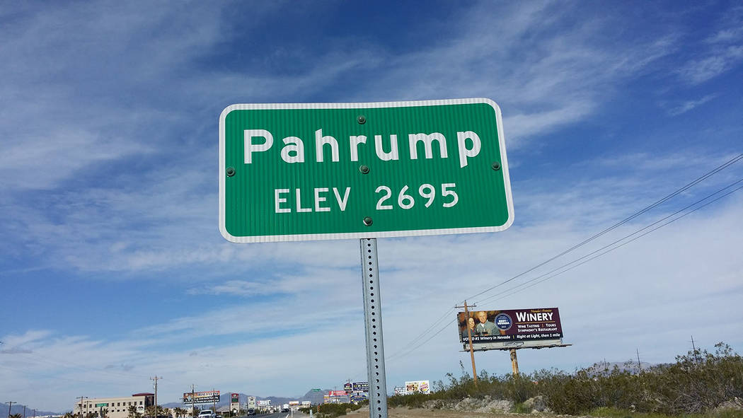 David Jacobs/Pahrump Valley Times An anthem for the town of Pahrump? The suggestion is raised in a letter to the editor of the Pahrump Valley Times.