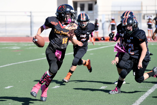 Peter Davis/Pahrump Valley Times file In the first study, researchers studied youth football players without history of concussion to identify the effect of repeated subconcussive impacts.