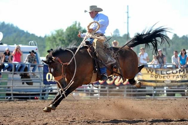 Gary Bennett/Special to the Pahrump Valley Times The Labor Day rodeo is sanctioned by the PRCA and has a full lineup of rodeo events.