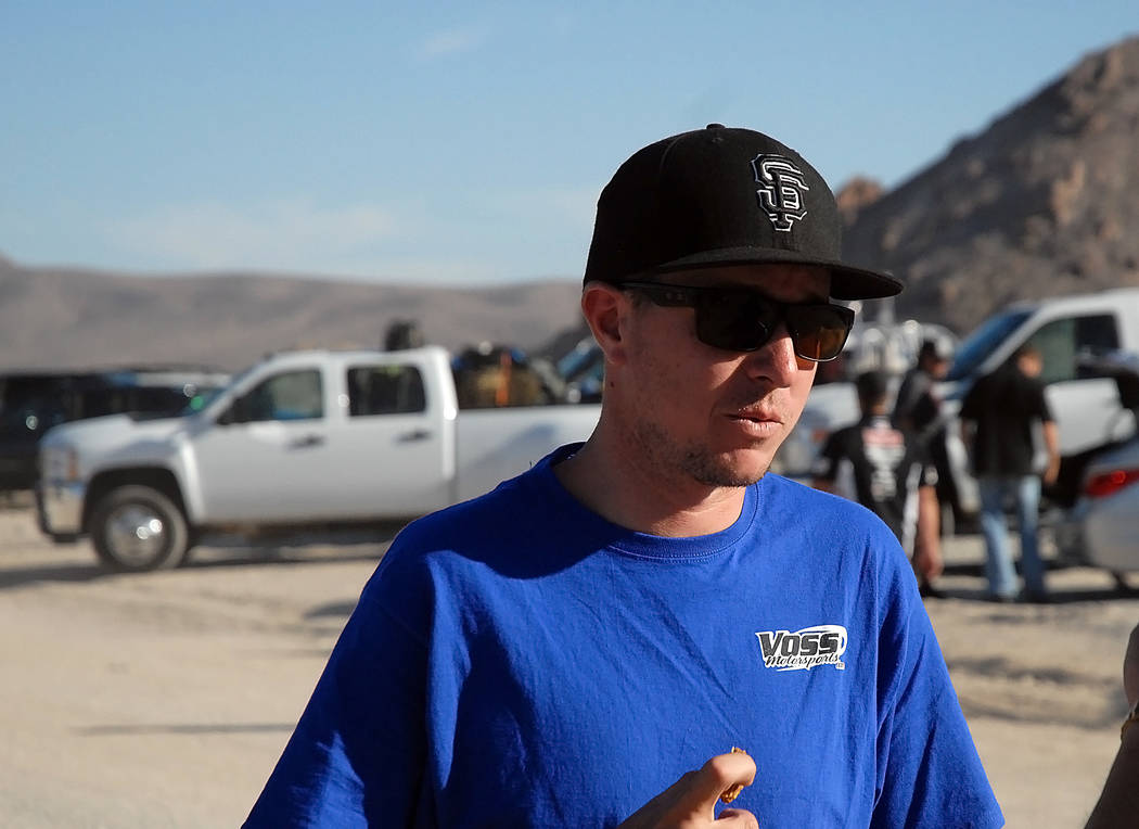 Horace Langford Jr./Pahrump Valley Times  Trick Truck Division racer Jason Voss finished first on Saturday in the Pahrump Nugget 250 offroad race. Overall, more than 100 entries were in the Pahrum ...