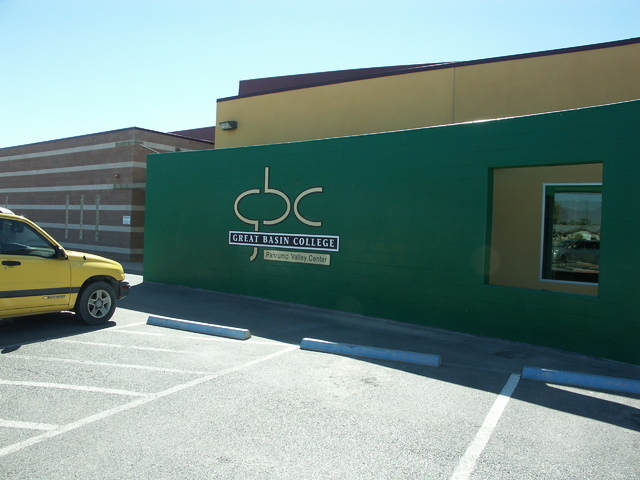 Selwyn Harris/Pahrump Valley Times Great Basin College, pictured here at 551 E. Calvada Blvd. in Pahrump. The college recently received a $275,000 grant from the Nevada Department of Education