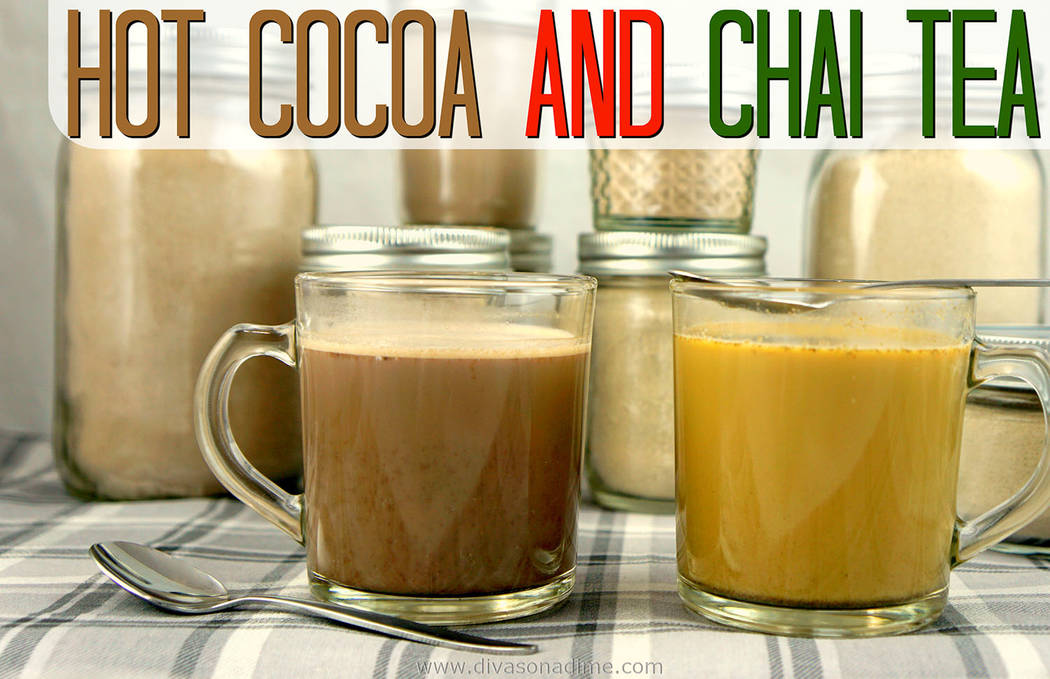 Patti Diamond/Special to the Pahrump Valley Times Columnist Patti Diamond shares two of her favorite instant beverage recipes for this time of year. They're super easy and you can make them now, ...