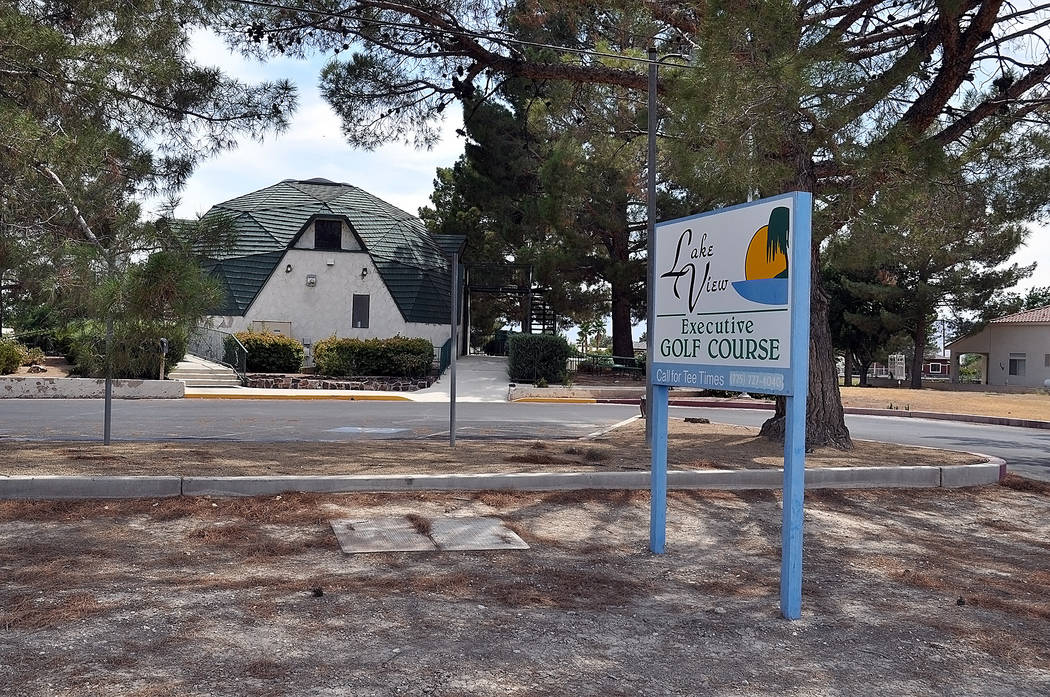 Horace Langford Jr./Pahrump Valley Times  The 62.5-acre Lakeview Executive Golf Course is located at 1471 East Mount Charleston Drive in Pahrump. The Nye County Commission approved an offer of $35 ...