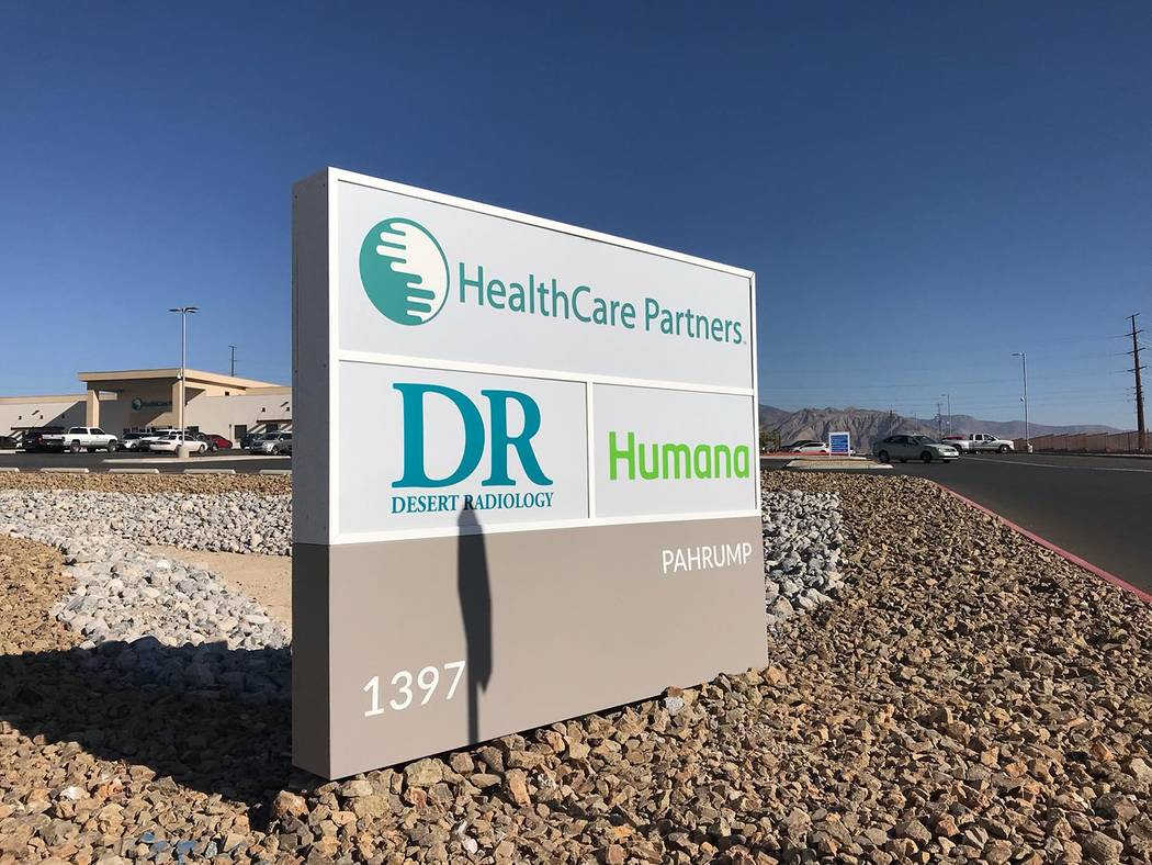 Jeffrey Meehan/Pahrump Valley In the coming months, HealthCare Partners in Pahrump could be under new ownership. HealthCare Partners in Nevada and other surrounding areas are part of a large-scale ...