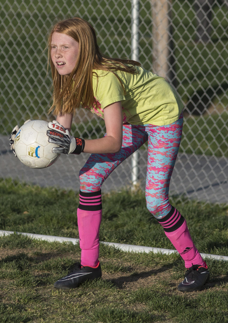 Jacob Kepler/Las Vegas Review-Journal In partnership with communities, municipalities and corporate partners across the country, the U.S. Soccer Foundation is pledging to reach 1 million children  ...