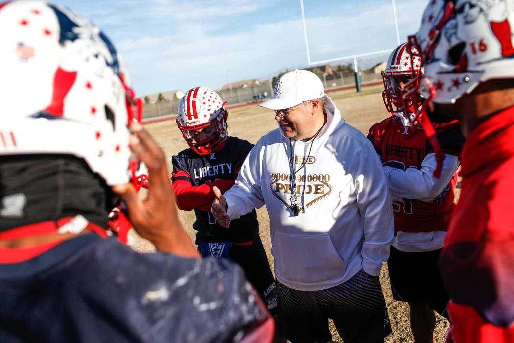 Joel Angel Juarez/Las Vegas Review-Journal Gorman and Liberty, two of the state's best teams, are to be joined by Basic, Coronado, Foothill and Green Valley in a southern league. The northern le ...
