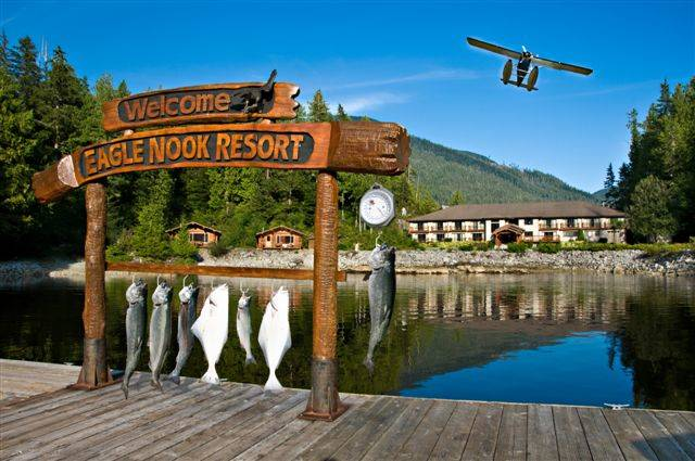 Special to the Pahrump Valley Times A look at the Eagle Nook Lodge, in British Columbia, Canada features world-class salmon fishing for the entire family. Backyard and local ponds are the best pla ...