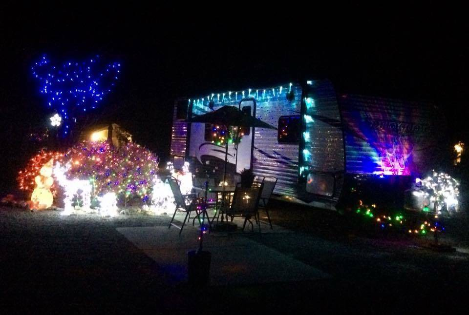 special to the pahrump valley times art and lisa radlickis home decorated for christmas at the