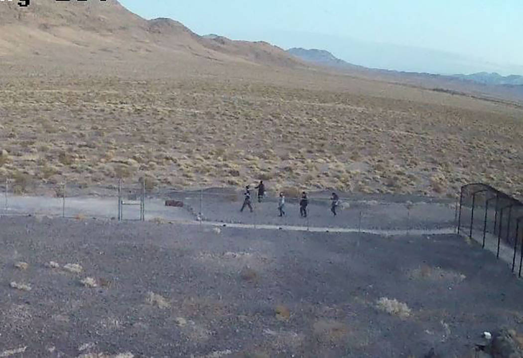 National Park Service Five people were recorded on the site's security cameras damaging government property and entering a closed area. Devils Hole, a detached unit of Death Valley National Park,  ...