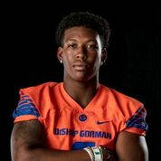 Bishop Gorman's Brevin Jordan is a member of the Las Vegas Review-Journal's all-state football team.