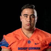 Bishop Gorman's Jacob Isaia is a member of the Las Vegas Review-Journal's all-state football team.