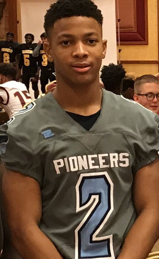 Canyon Springs' DiaMante Burton is a member of the Las Vegas Review-Journal's all-state football team.