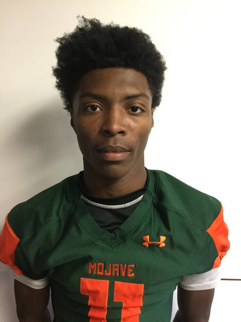 Mojave's John Harper is a member of the Las Vegas Review-Journal's all-state football team.