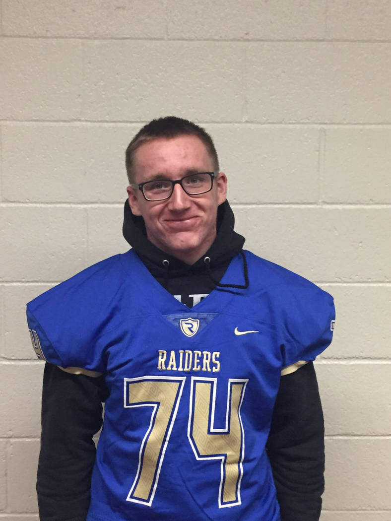 Reed's John Keeley is a member of the Las Vegas Review-Journal's all-state football team.