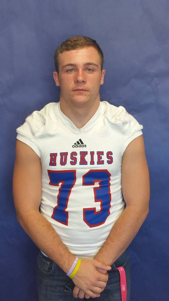 Reno's Logan Hutcherson is a member of the Las Vegas Review-Journal's all-state football team.
