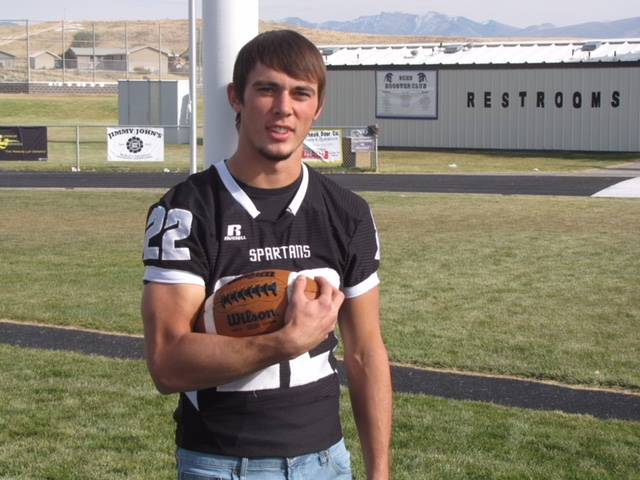 Spring Creek's Jason Painter is a member of the Las Vegas Review-Journal's all-state football team.