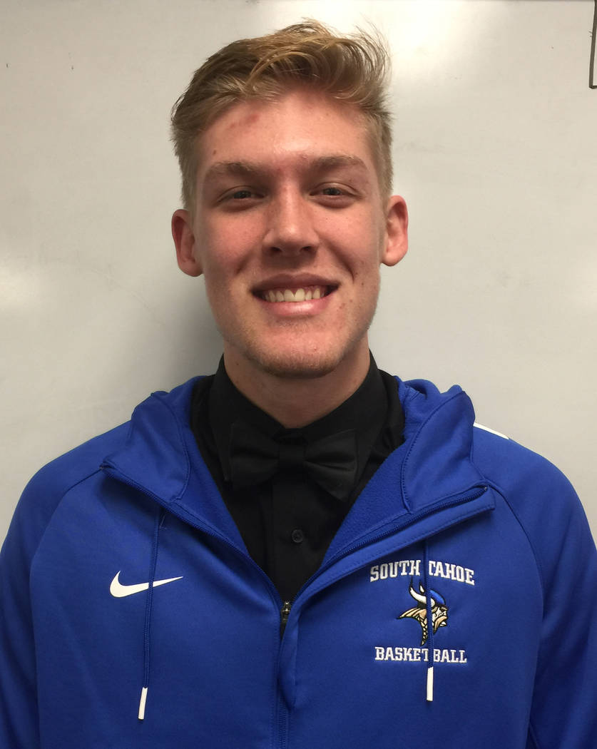 South Tahoe's McCallan Castles is a member of the Las Vegas Review-Journal's all-state football team.